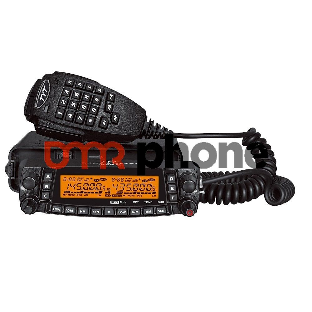 Newest TYT TH-9800 Plus Cross Band Quad Band Mobile Radio 1801A Version