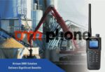 KIRISUN DP770 ANALOG DIGITAL DMR WALKIE TALKIE UHF 400-470MHZ GPS IP67