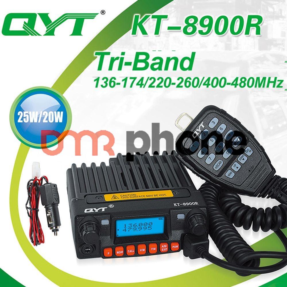 Mini Tri-band Mobile CB Radio QYT KT-8900R