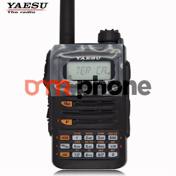 Yaesu FT-70D 2-way Radio Dual Band Digital Analog C4FM