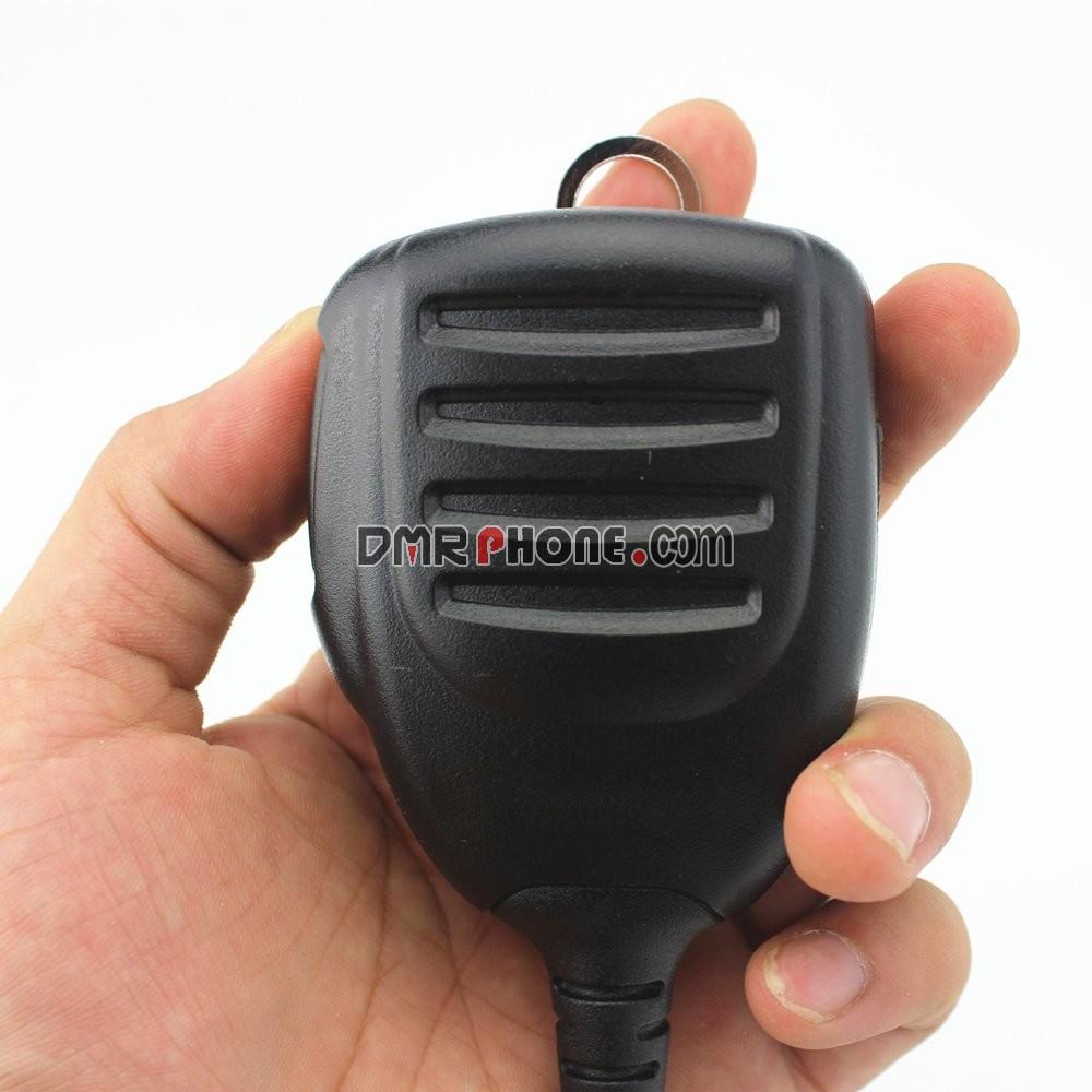 Black Icom Microphone Hand Speaker Mic For ICOM IC-2820H IC-2825E IC-2300H IC-2800H IC-2100H IC-208