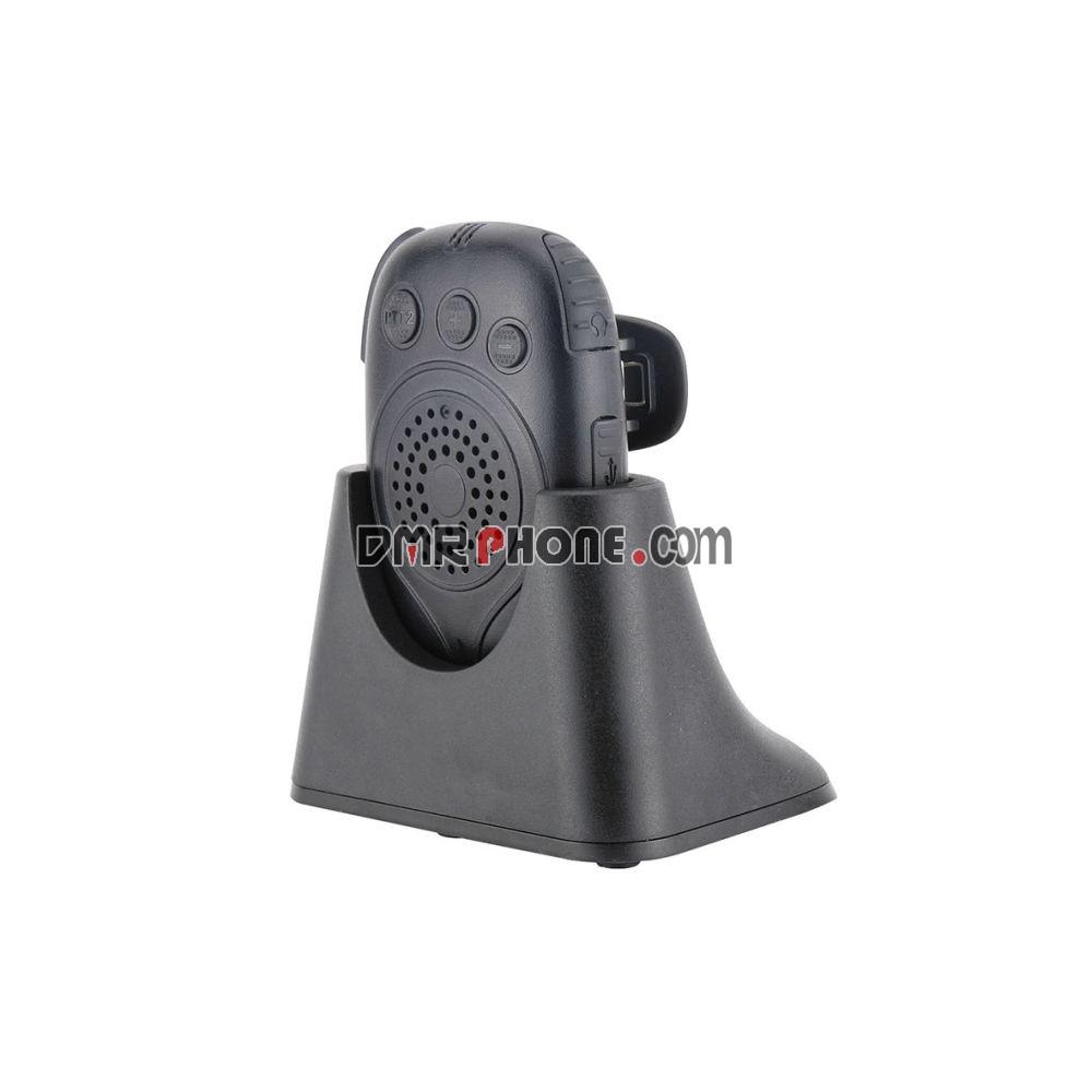 Mix Talk Dual PTT Microphone Bluetooth Speaker Mic for Two Way Radio Zello Phone Wandfu H4