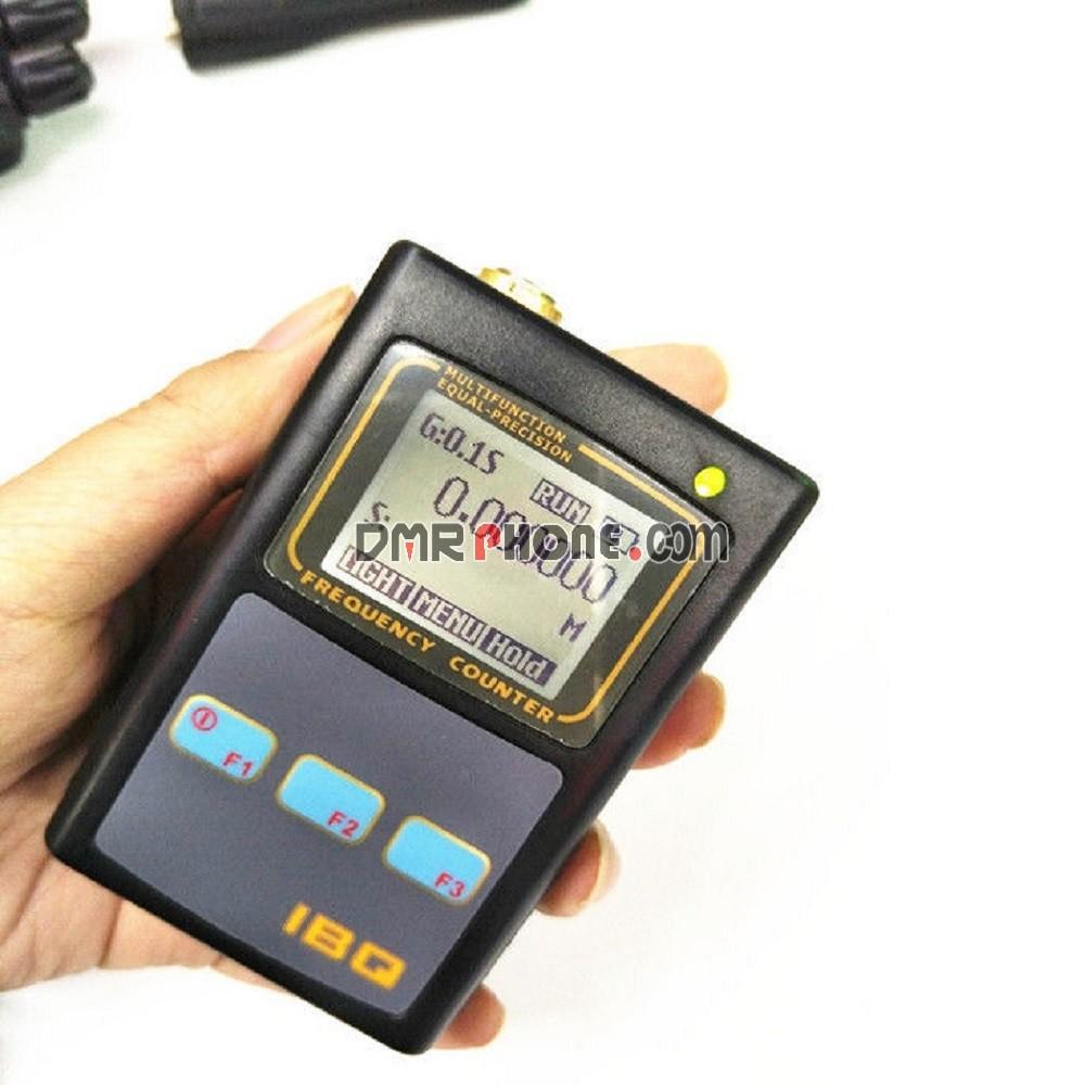 Handheld Radios IBQ-102 Upgraded Mini Frequency Meter Scanner Meter