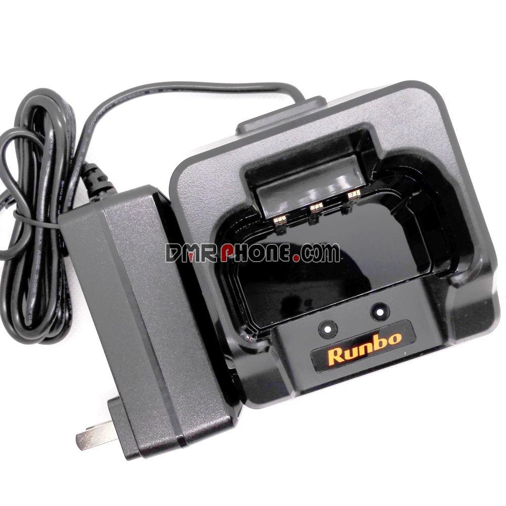 DMR 4G LTE Phone Rfinder Runbo K1 Charger Docking100-240V AC Adaptor