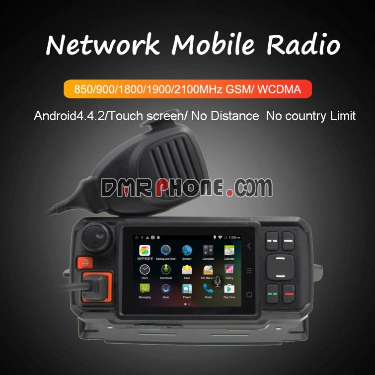 Senhaix N60 Android Phone Touch Screen No Distance No Country Limit Mobile Network Radio