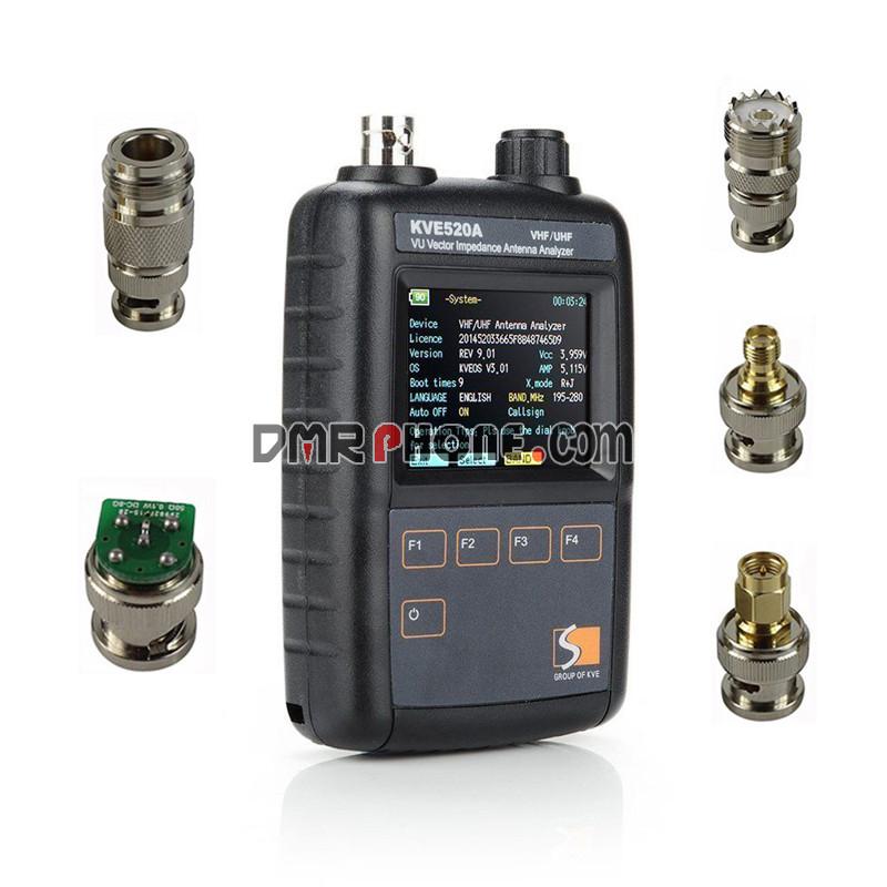 2018 DIY Shortwave Ham Radio VHF UHF HF Antenna Analyzer AW07A For