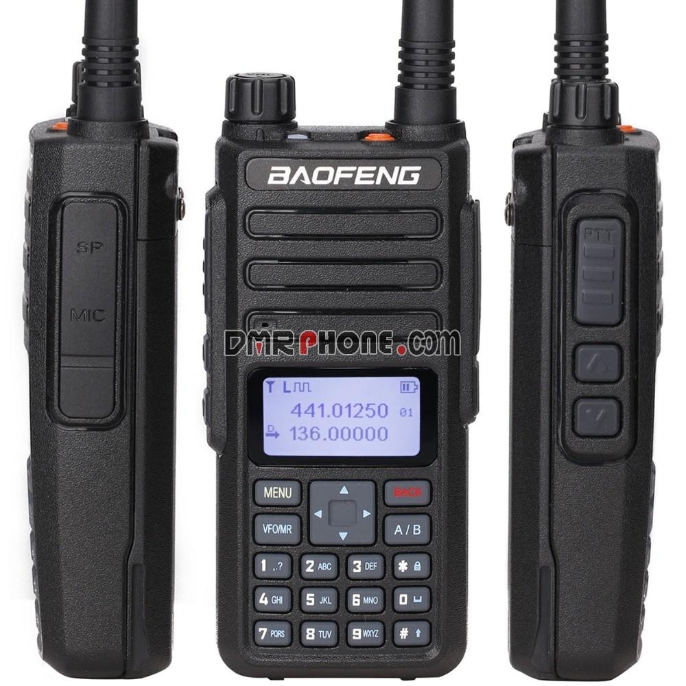 2019 Newest Digital Mobile Radio Baofeng DM-1801 DMR Tier1 Tier2 Tier II  Compatible With Motorola 2PCS