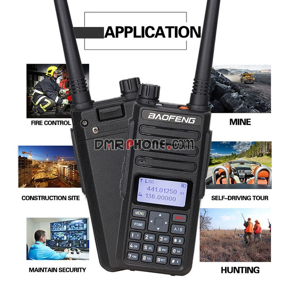 2019 Newest Digital Mobile Radio Baofeng DM-1801 DMR Tier1 Tier2 Tier II  Compatible With Motorola 2PCS