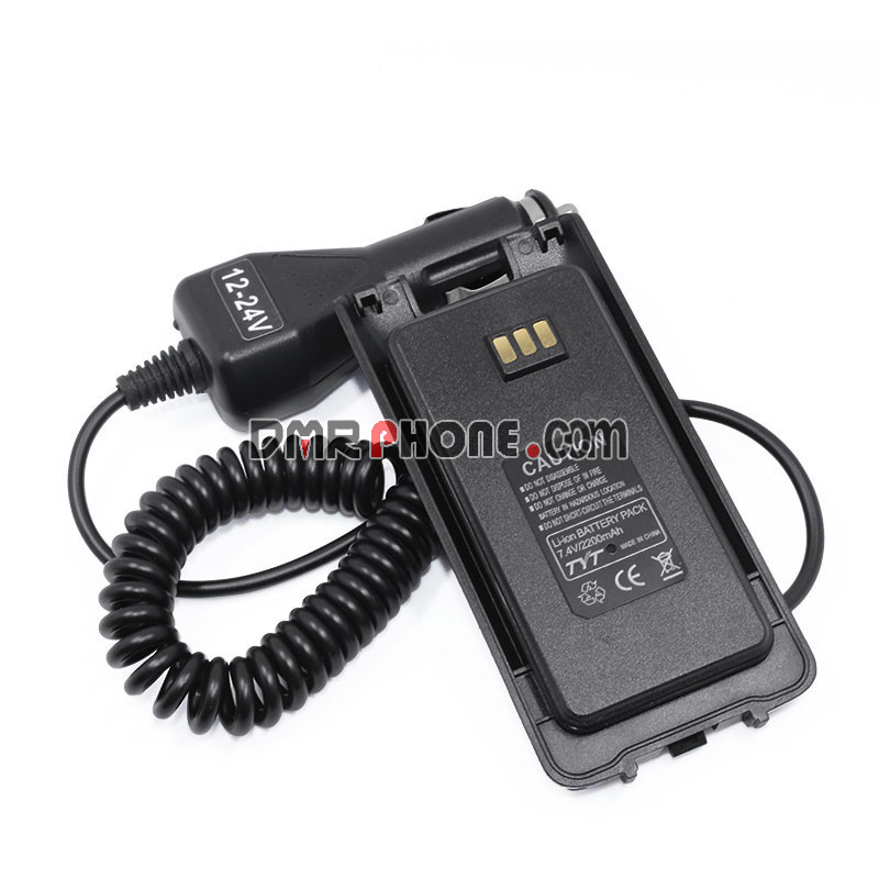 Upgraded DMR Radios Retevis RT8 RT81 TYT MD390 Battery Eliminator