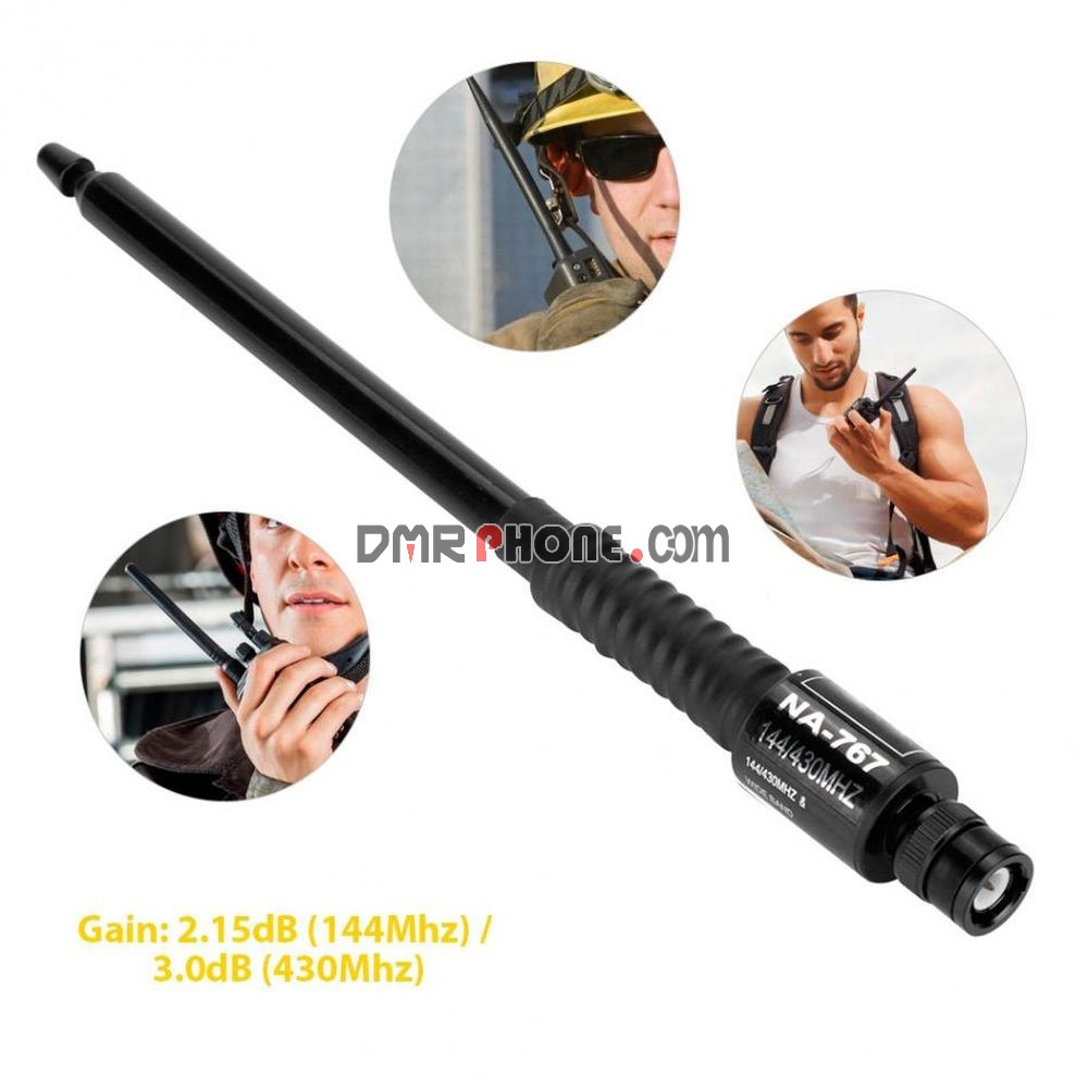 Nagoya NA767 BNC 144/430MHz Telescopic Antenna for Kenwood ICOM IC-V8  IC-V80 V82 IC-V85 TK300 TK308 CP500 CB Radio