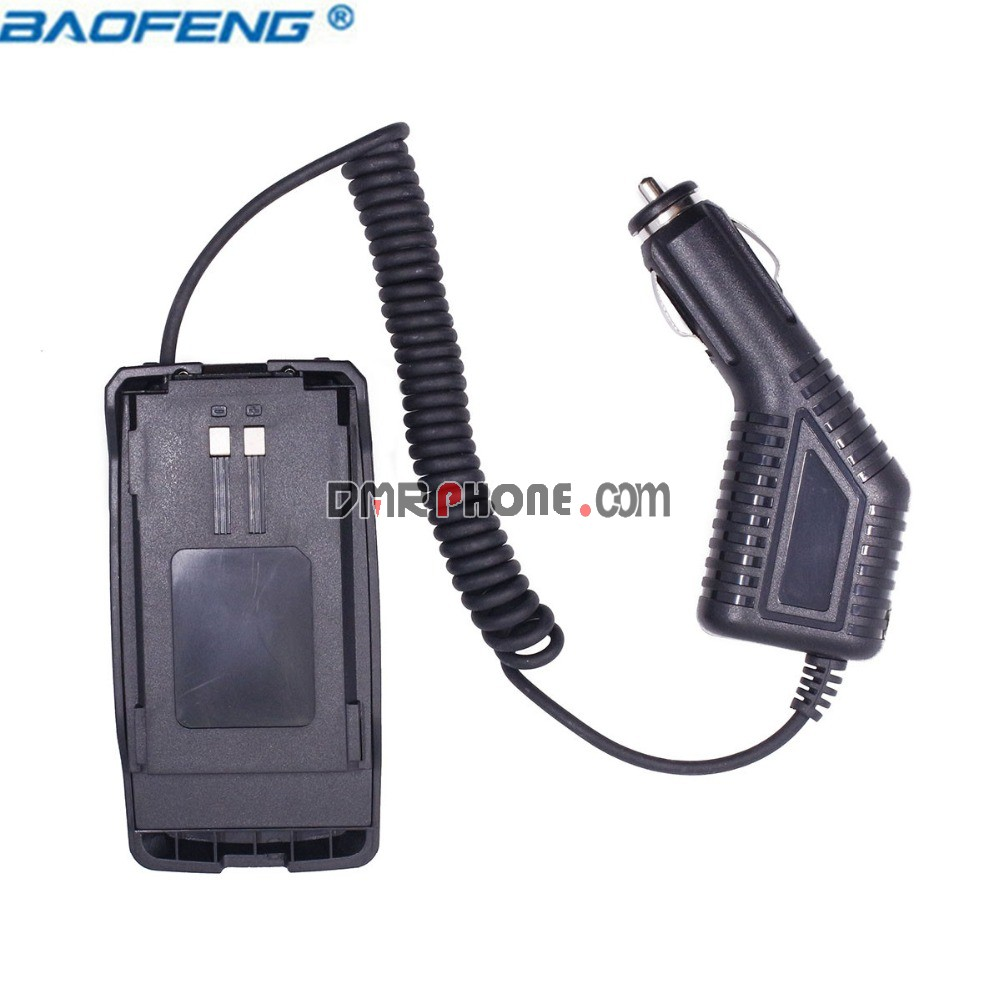 2PCS Baofeng 6R Car Battery Eliminator for Pofung UV6R Plus Handheld Radios
