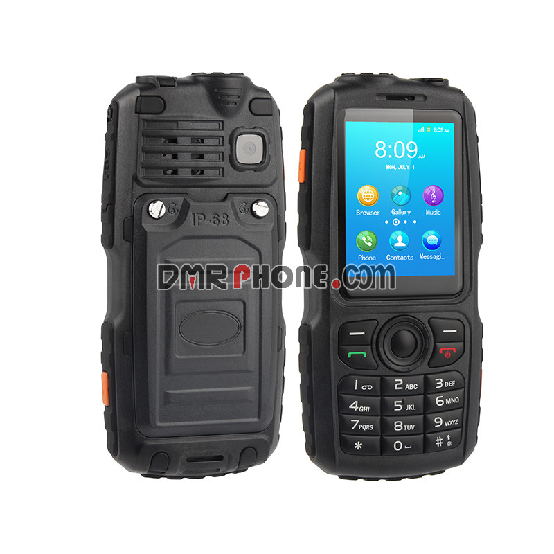 IP67 Waterproof GSM WCDMA Walkie Talkie POC Zello Android Smartphone