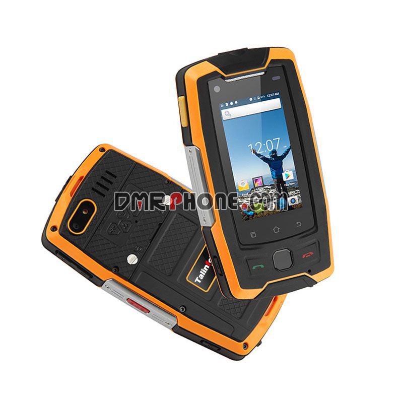 Talinfone M22IPS Screen IP68 Waterproof NFC POC Android 4G Radio Phone