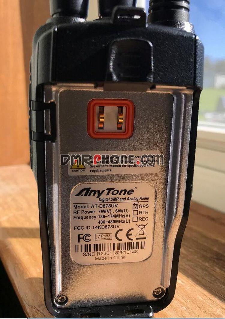 New D878UV Anytone VFO Operation Handheld DMR Digital Radio