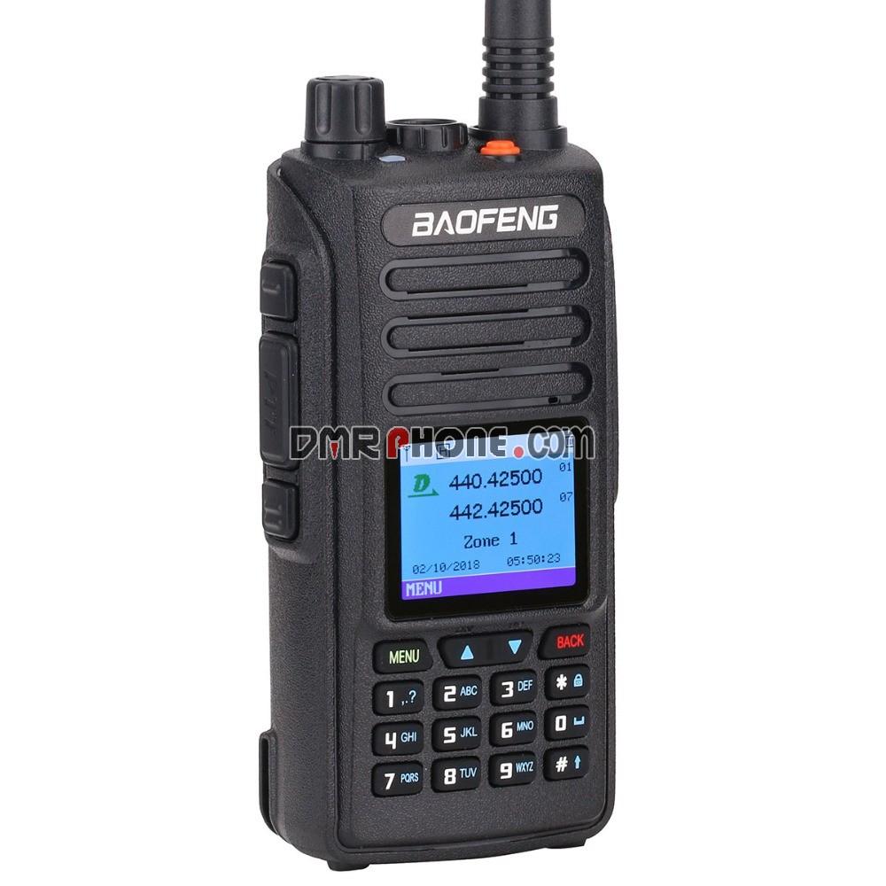 Baofeng DM-1702 U/V Dual Band GPS DMR Digital Radio