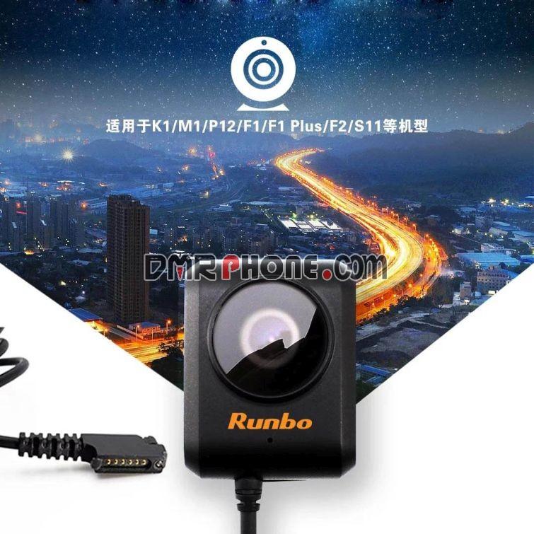 Runbo P12 Tablet M1 K1 DMR Phone ExternCamera