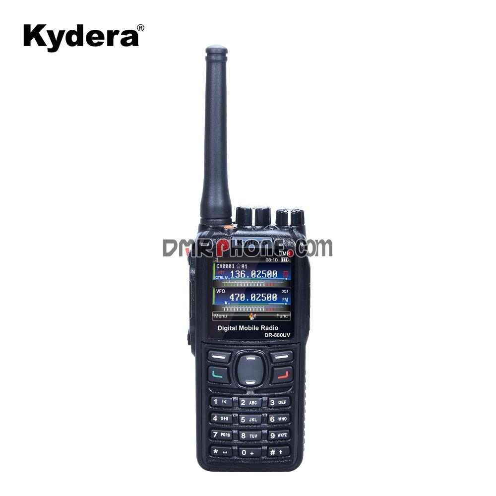 Popular DMR Digital Radio Kydera DR-880UV Dual Band Walkie Talkie