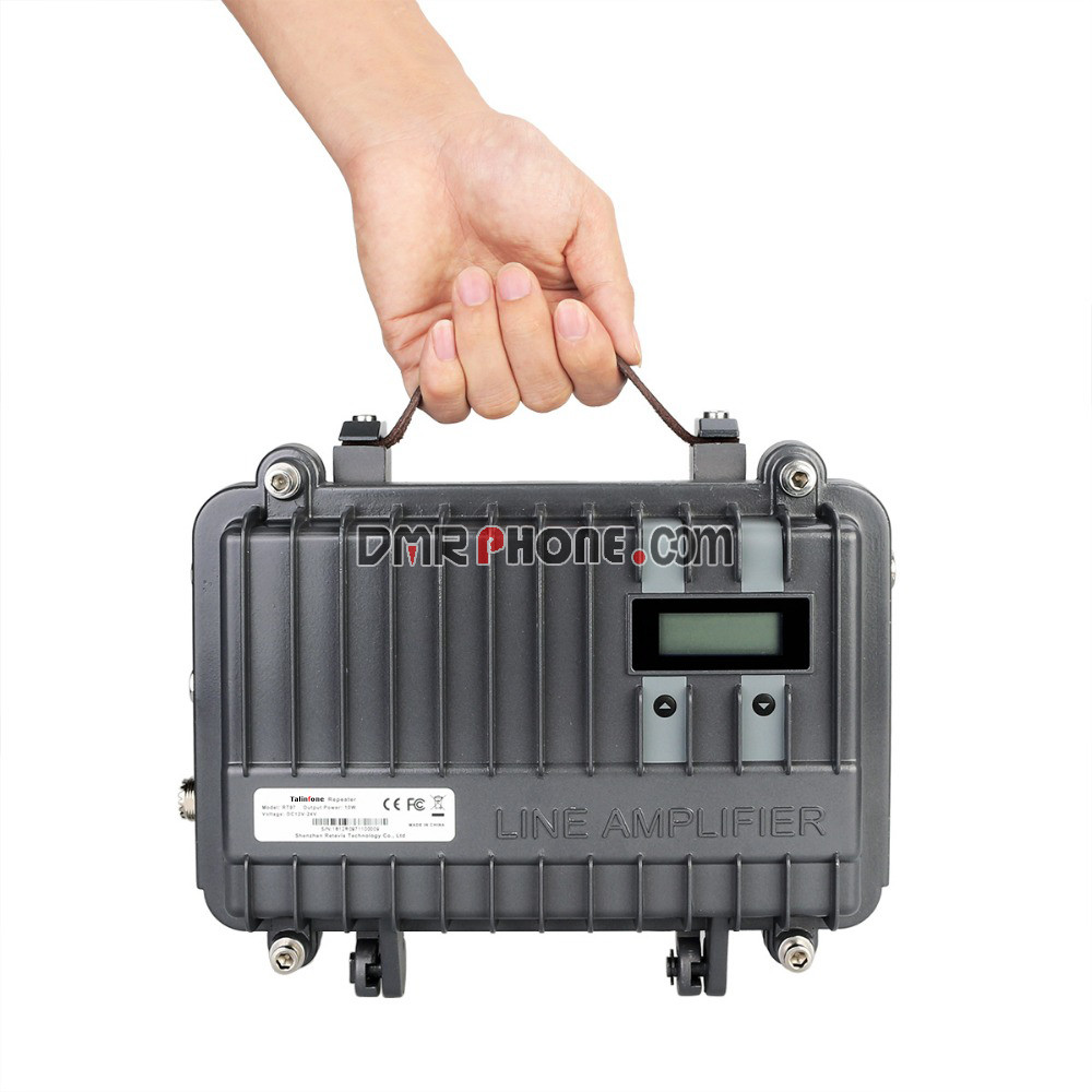 Customized UHF / VHF Portable Two Way Radio Long Range Mobile Repeater