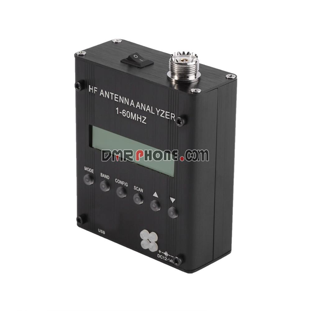 MR300 Antenna Analyzer HF Digital Shortwave Meter Tester Tool 1-60M