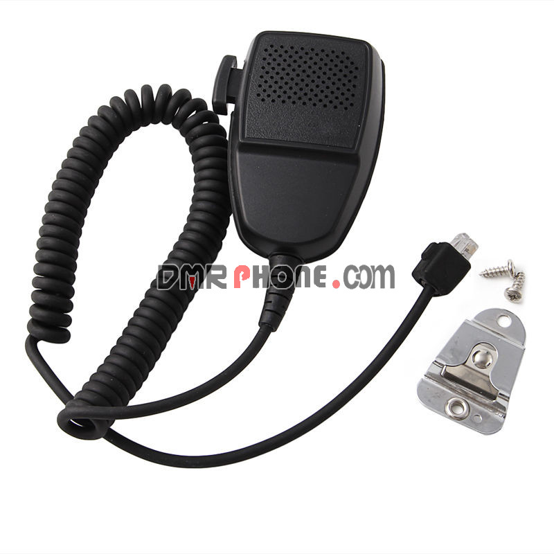 8-pin Speaker Mic Hand Microphone For Motorola Walkie Talkie Mobile Radios