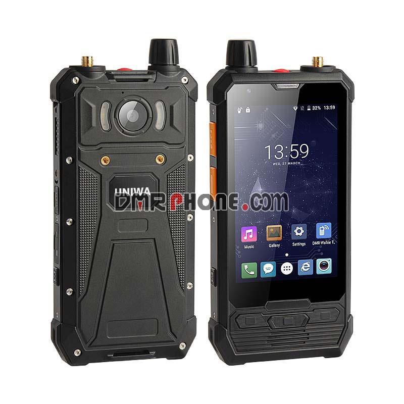 5W IP67 Waterproof DMR Phone 2019 Newest P1 4G LTE Walkie Talkie