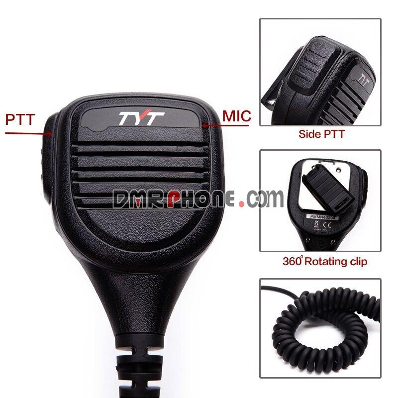 TYT most of Two Way Radio MD380 UV390 UV8000E Remote Speaker Mic