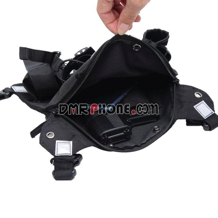 Motorola Harris PRC-152UV Radios Pocket Baofeng TYT Wouxun Vest Rig Carry Bags