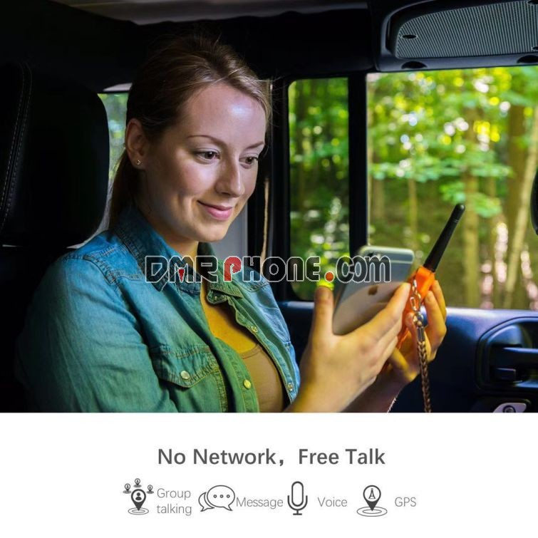 Advanced Power Talkie PT01 SOS GPS Mesh network FCC Walkie Talkie