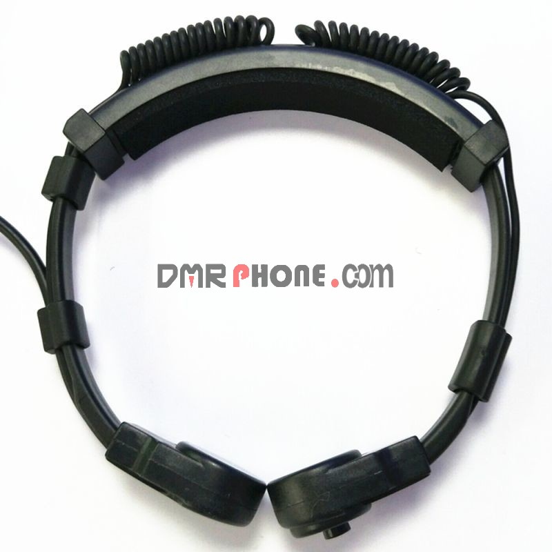 Flexible Throat Microphone jack 3.5mm Covert Acoustic Tube Headset for Iphone android phone