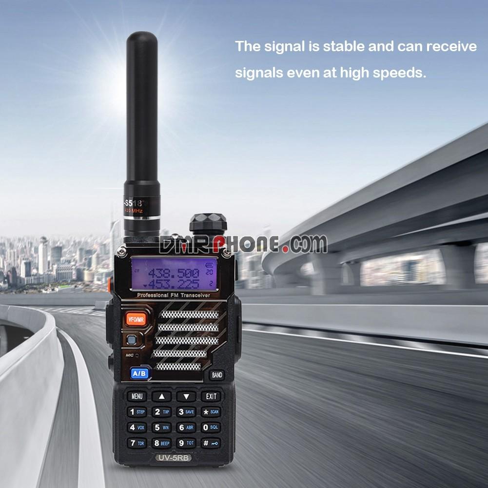 2x SMA-F Short Antenna for Retevis H777 RT-5R Baofeng Kenwood Radios US