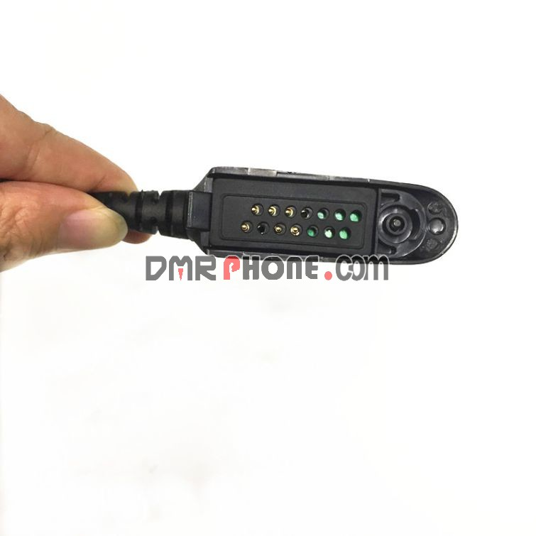 U94 PTT Military Earpiece Adaptor Cable for Motorola GP328 GP340 PRO5550 PTX760 MTX8250 HT1550