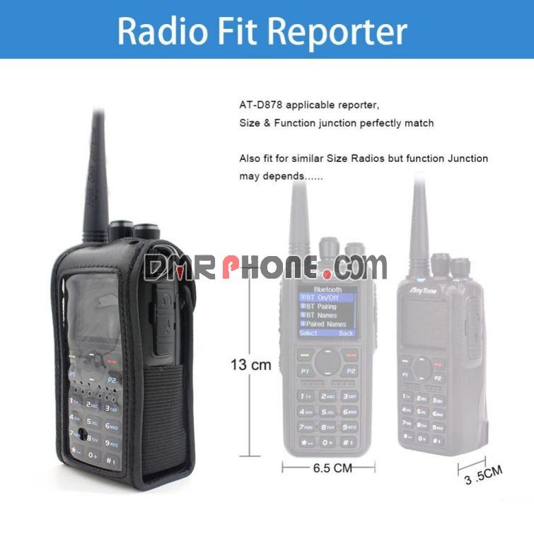 Walkie Talkie Soft Case for Anytone AT-D878UV AT-D878UV Plus Series DMR Radios