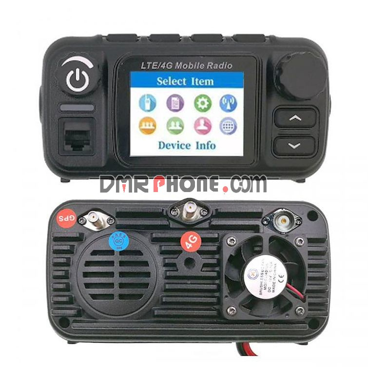 YANTON TM-7700D 4G LTE SIM Card Dual Band 25W MobileRadio Phone