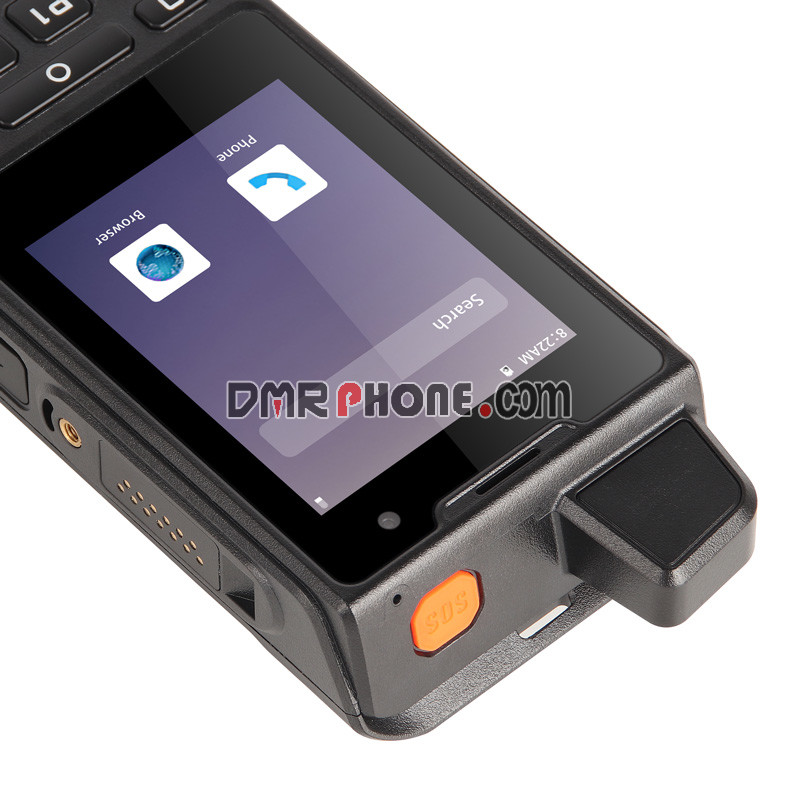 UNIWAF60IP68Waterproof 2.8''4G Phone NFC POCZelloRadio