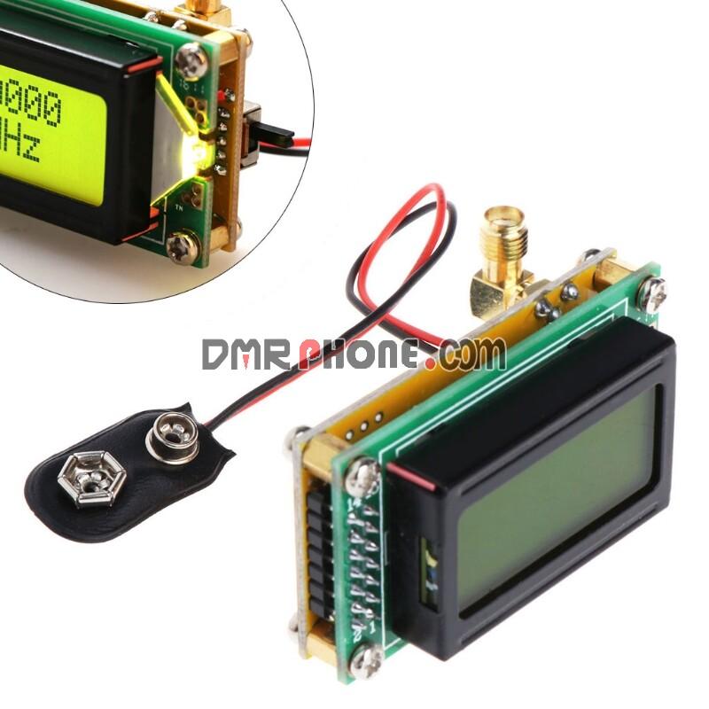 1-1200mhz 1MHz-1.2GHz RF Frequency Counter Tester Digital PLJ-0802-E LCD0802 DC 9-12V LCD Meter For Ham Radio DIY Kit