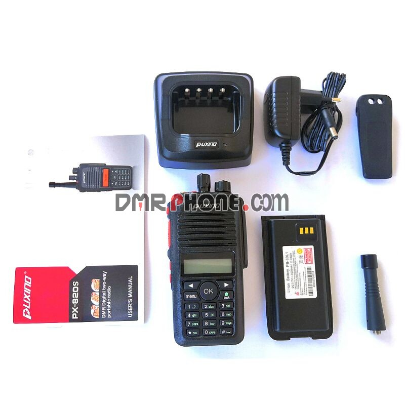 Puxing PX-820S 3G Satellite GSM Wifi Network Radio SIM Card Portable Walkie Talkie
