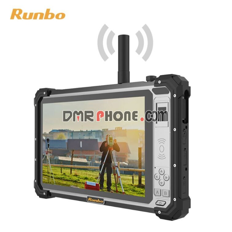 Runbo P5 UHF VHF Dual Band DMR Zello PTT GNSS Rugged Android Tablet for land surveying and mapping RTK receiver
