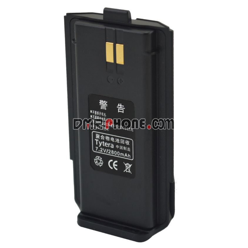 TYTDC7.2V 2800mAh Li-ion Battery for TyteraMD280MD280PlusDMR DIGITAL Portable Two-wayRadio