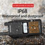 Baofeng UV2 Plus Dual Band VHF UHF Ham CB Long Distance Radio Station