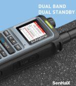 SENHAIX 8600 Dual PTT 5W Dual Band Standby Waterproof Two-WayRadio