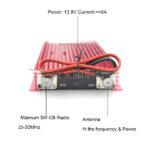 BaoJie BJ-200 50W 3-30 MHz AM/FM/SSB/CW Walkie Talkie CB Amplifier